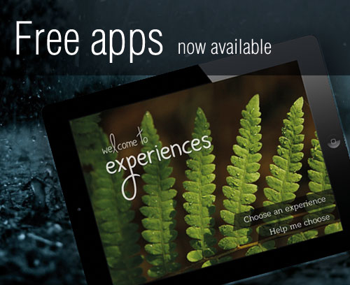 Free version of Experiences iPad app now available