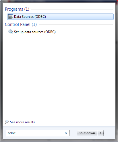 How to add ODBC data source - Microsoft SQL Server