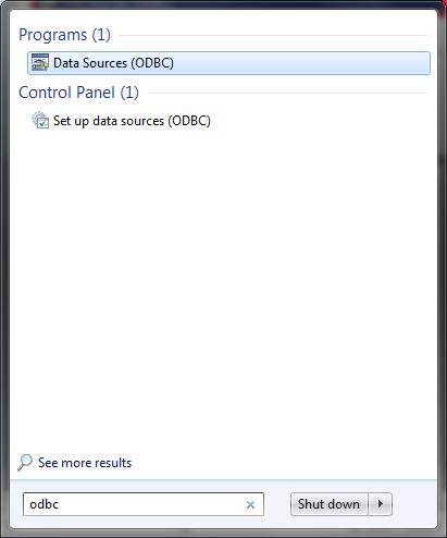 How to add ODBC data source - Microsoft SQL Server