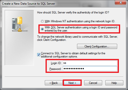 How to add MS SQL server as an ODBC data source? - Wiseindy