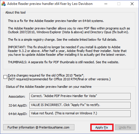 Pdf Preview Handler Adobe